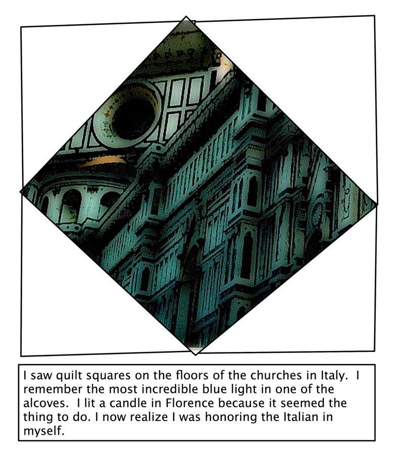 Italian quilt square