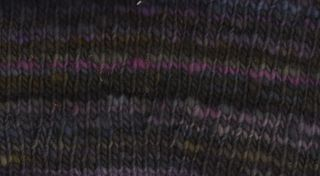 Yarn swatch, spincyle308