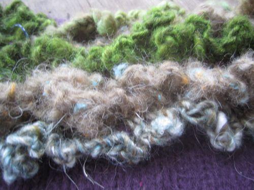 Wool ruffles