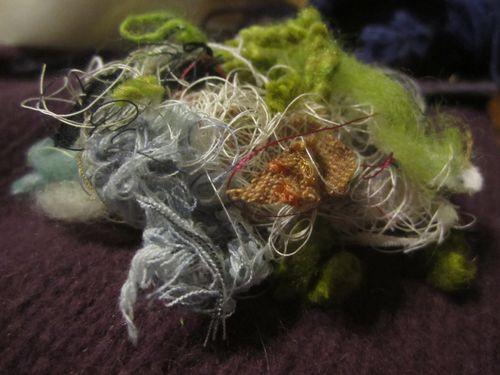 Thread pile