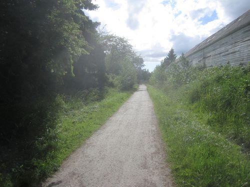 Railroad trail