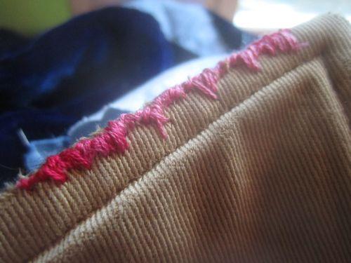 Mending coat