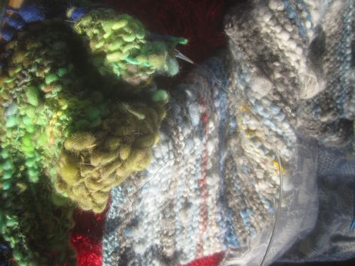 Two hand spun projects