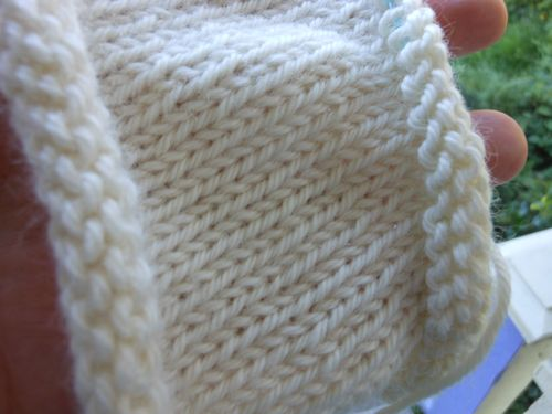 Beginning a sleeve