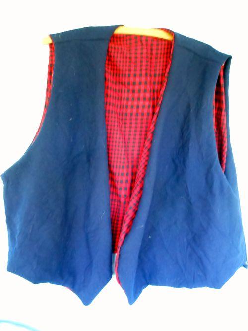 Vest from scraps