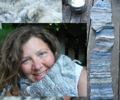 Knitting the sky for a year