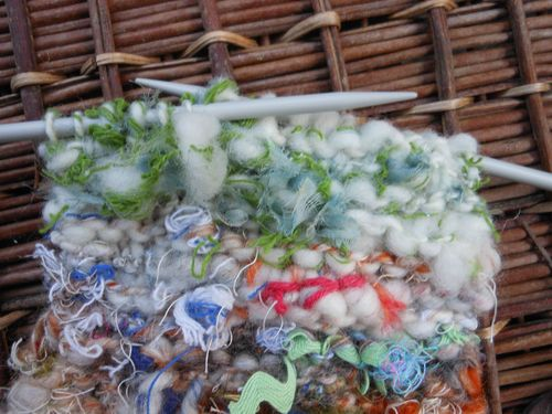 Knitting cloth