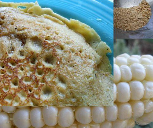 One corn dinner