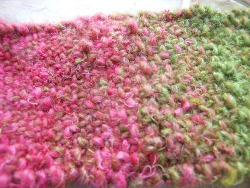 Linen stitch-headband
