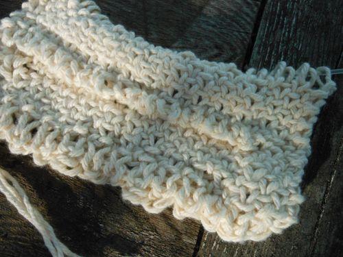 White linen stitch
