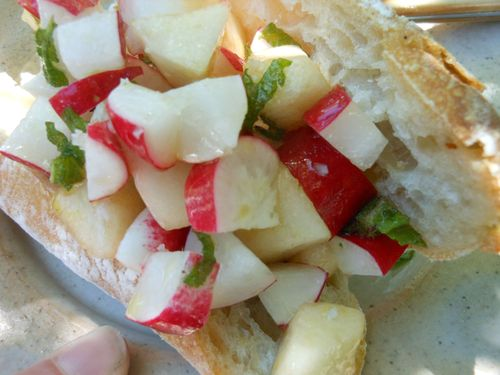 Radish pear combo