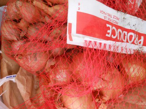 Potato onions and shallots