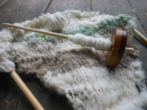 Spin and knit