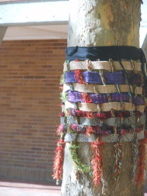 Tree wrapped