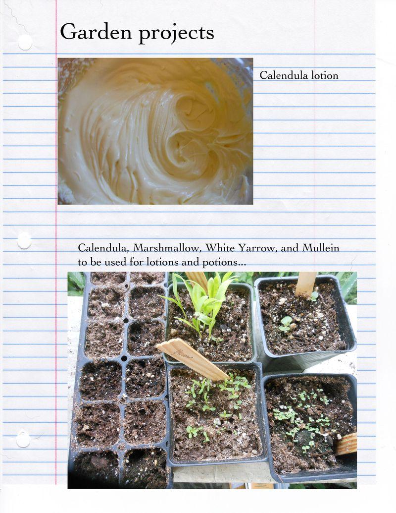 Gardener's apothocary