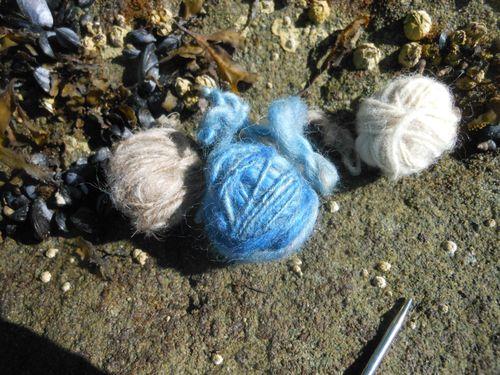 Yarn at the beach