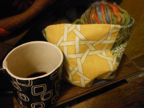 Coffee and yarn