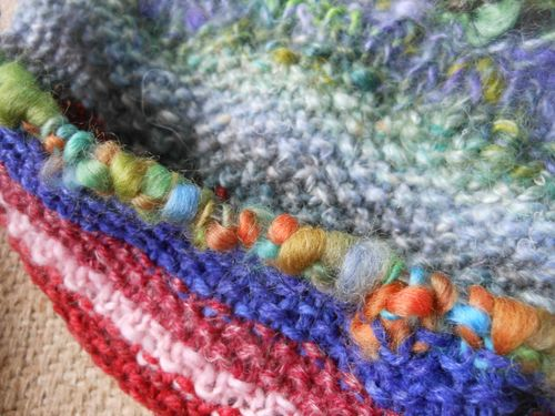 Knitting next row