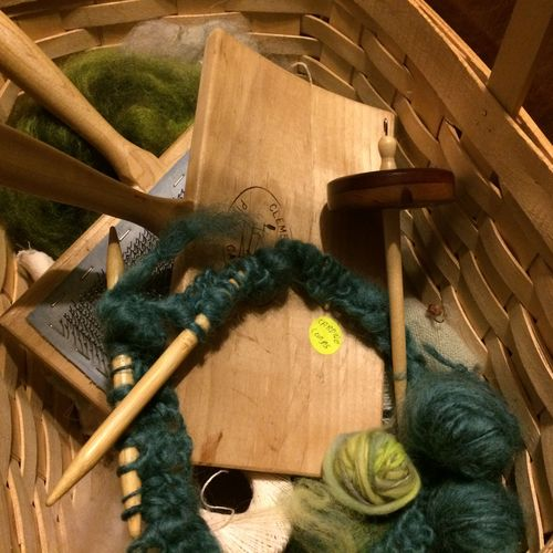In the basket