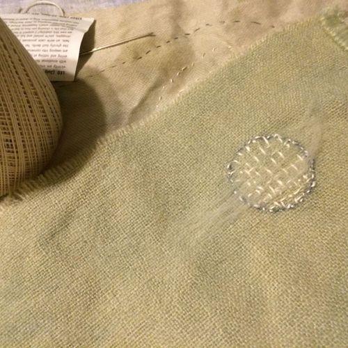 Stitched moon