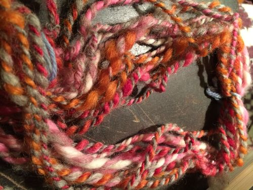 Yarn flowers will bloom