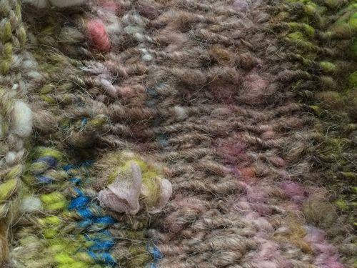 Blossoming yarn