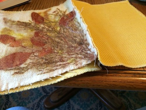 Golden stitching