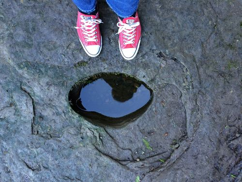 Reflection and feet
