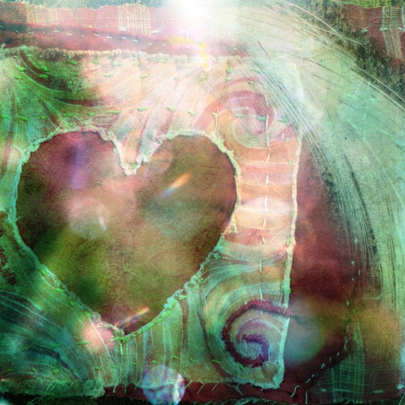 Mending heart layered