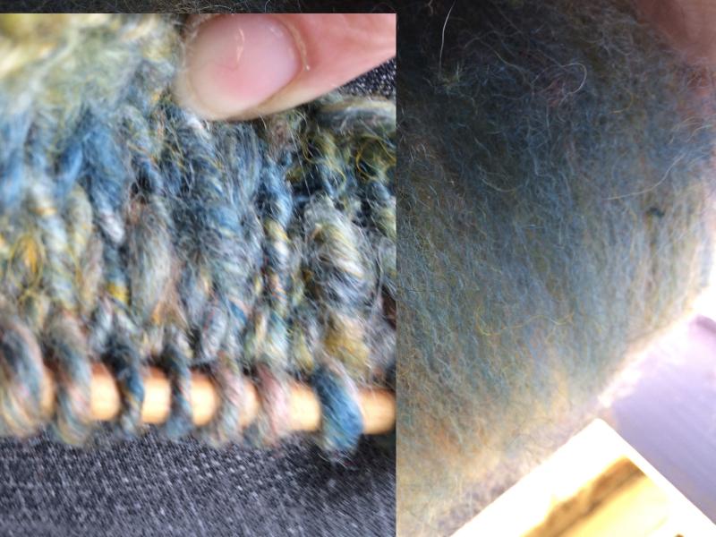 Spun and knit