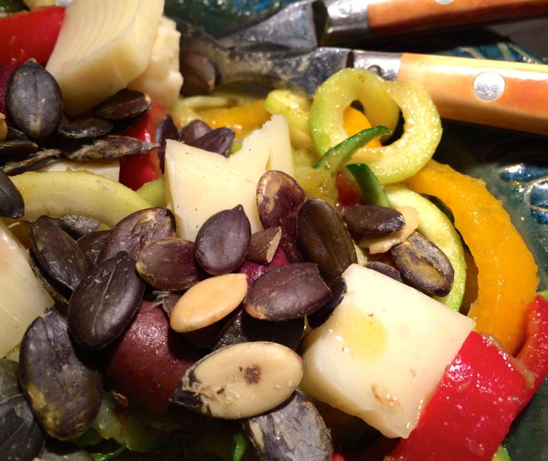 Zuchini salad