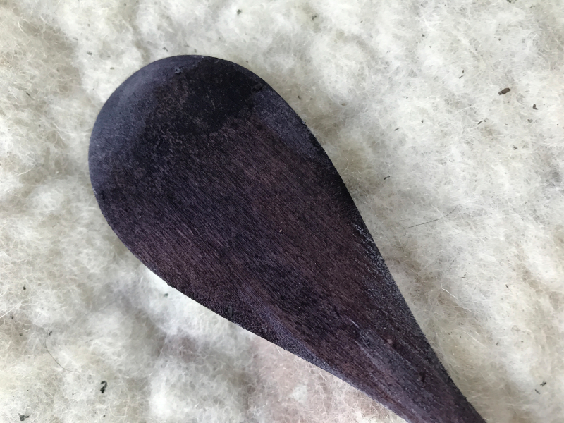 indigo spoon