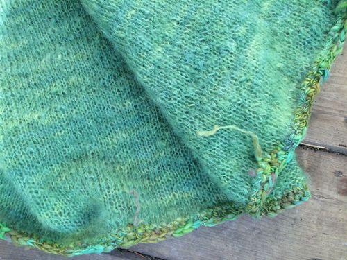 Finished shawlet