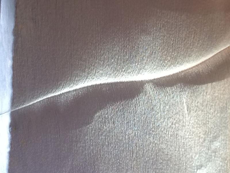Fold on the curtain