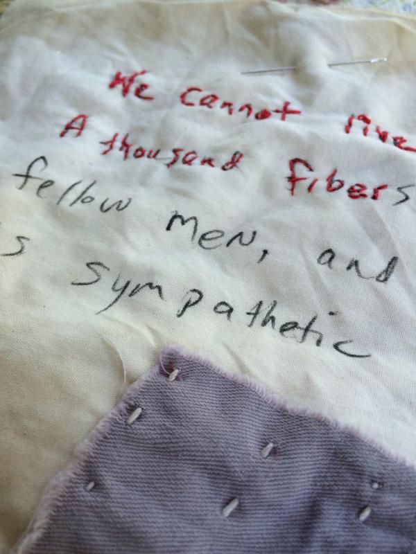 Stitching melville