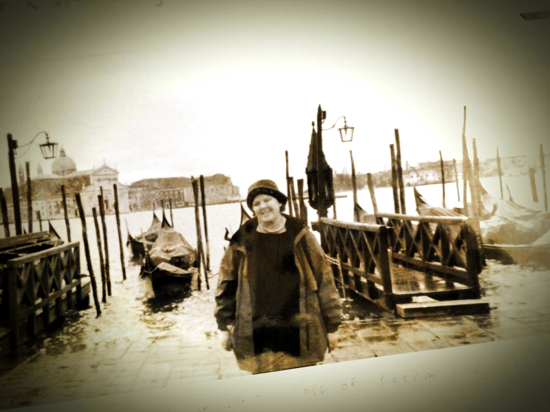 Venice, a photo of a photo