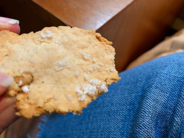 Sourdough cracker