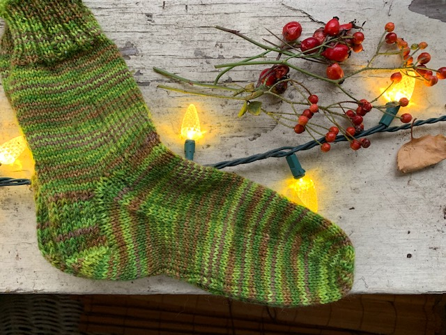 Sock done