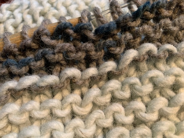 Knit some more